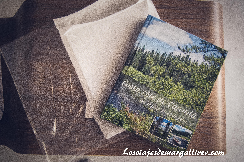 Embalaje del álbum de Saal Digital - Los viajes de margalliver